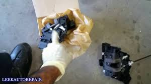 door lock actuator replacement 10 land rover lr2 youtube