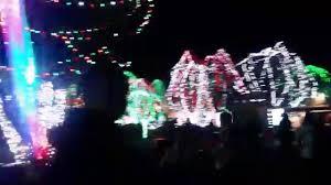columbus zoo christmas lights wildlights columbus zoo christmas lights entrance youtube