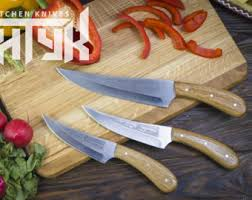 engraved kitchen knives engraved chef knife etsy