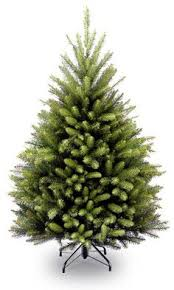 contemporary decoration 4 foot pre lit tree artificial