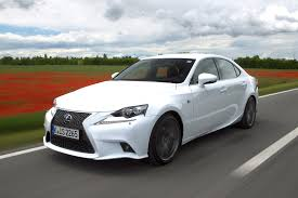 sporty lexus 4 door lexus is300h f sport hybrid first drive