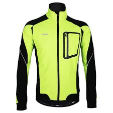 bicycle windbreaker jacket amazon com arsuxeo winter thermal fleece cycling jacket