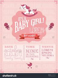 template all white baby shower invitations for girls templates