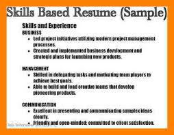 management skills for a resume 8 example of skills for a resume emt resume