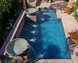 small pools and spas small swimming pools are making a return to yard designs premier