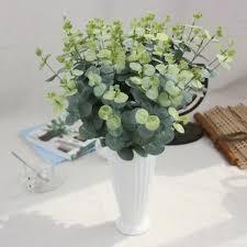 aliexpress com buy long branch eucalyptus silk flower artificial