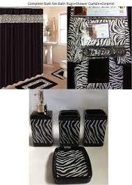 simple 50 pink and black zebra bathroom set inspiration of pink