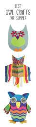 17 parasta ideaa owl crafts kids pinterestissä askartelua