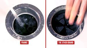Franke Waste Disposers VS The Other Brand YouTube - Kitchen sink waste disposal units
