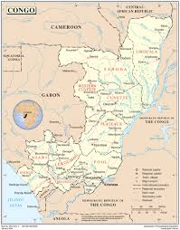 Republic Of Congo Map Republic Of The Congo International Organization For Migration