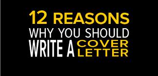 12 reasons why you should write a cover letter infographic