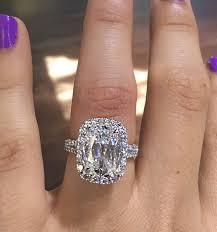 5 Carat Cushion Cut Engagement Rings Henri Daussi Engagement Rings 4 26ct Diamond Cushion Cut Diamond