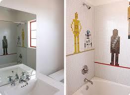 star wars bathroom decor in white bathroom home interiors