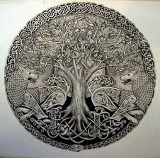 beautiful celtic tree of ideas celtic