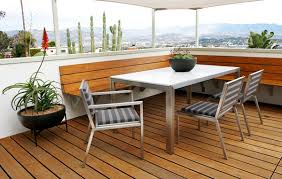 Stainless Steel Patio Table Get Ready For Spring Landscape In Style With Modernica U0027s Outdoor