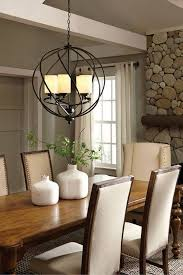 chandelier dining table lighting contemporary dining room