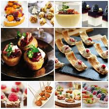 canapes for autumn canapes for any event chagne sparkles