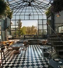 romita comedor restaurant mexico city black white tile floor