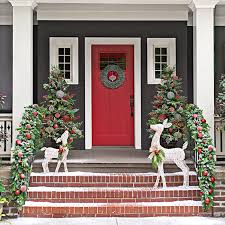 christmas decorated porches my web value
