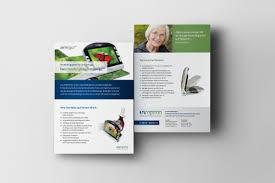 flyer designen lassen flyer design für optoelektronische hilfsmittel flyer design