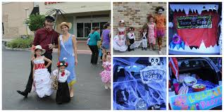 Halloween Trunk Or Treat Ideas by 30 Trunk Or Treat Ideas Mary Poppins Family Costume Youtube