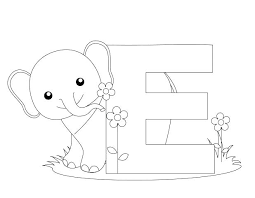 alphabet coloring pages in spanish spanish alphabet coloring pages coloring sheet cool letter e