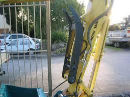 hydraulic thumbs for australian excavators in sale