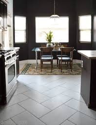 kitchen floor tile pattern ideas the kitchen flooring saga part of and the reveal vintage gray