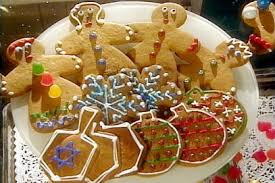 gingerbread ornaments gingerbread cookie projects white snowflakes
