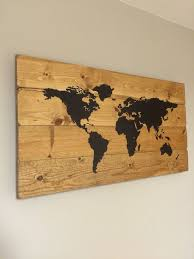 wood world best 25 world map wall decor ideas on world map