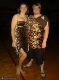 Cave Woman Halloween Costumes Couple Costume
