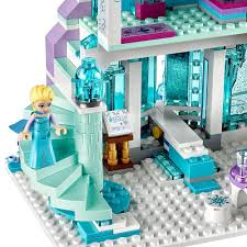 amazon com lego l disney frozen elsa u0027s magical ice palace 41148