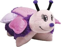 pillow pet night light target amazon com pillow pets dream lites stuffed animals zippity zebra