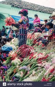 k u0027iche u0027 maya women selling flowers at the weekly market on the