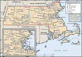 Massachusetts Blank Map by Historical Facts Of Massachusetts Counties