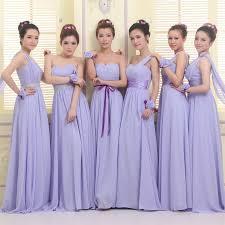 purple bridesmaid dresses 50 wholesale lavender bridesmaid dresses chiffon formal wedding