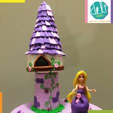 rapunzel cake topper edible fondant tangled rapunzel tower cake topper from