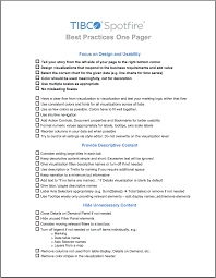 Business Requirements Document Template Pdf Visual Design Best Practices For Tibco Spotfire Tibco Community