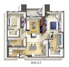 Apartment Plan Design Zampco - Studio apartment layout design
