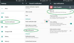 disable app android disable android notification turn notifications for any apps