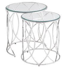table agreeable round nesting tables leg modern table design