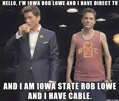 Direct Tv Meme - for all you iowa state fans out there meme on imgur
