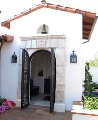 garage door repair santa barbara castle style homes exterior mediterranean with iron lighting san
