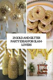 happy thanksgiving glitter images 25 gold and glitter party ideas for glam lovers shelterness