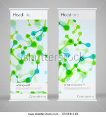 fancy brochure templates brochure cover design abstract roll up stock vector 557831413