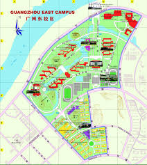 Zhuhai China Map by Campus Tour Campus Map 中山大学 Sun Yat Sen University