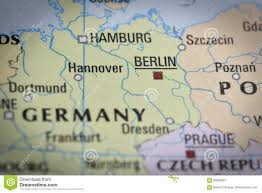 Dresden Germany Map by Germany Berlin In Close Up On The Map Stock Photo Image 83893907