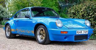Porsche 911 Blue - rare mexico blue rhd 1973 porsche 911 carrera 3 0 rs up for grabs