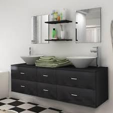 badezimmer waschtisch badmöbelsets mit mehreren schubladen ebay