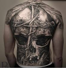mens back tattoos by bali revai insider